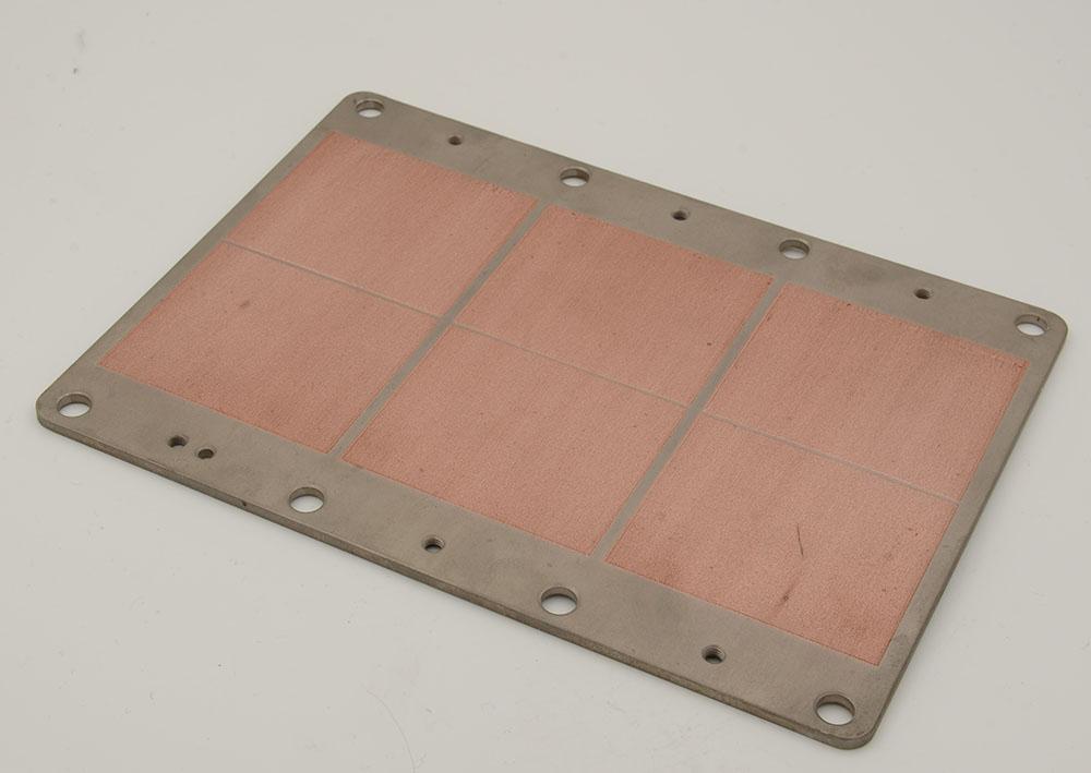 铝碳化硅可焊散热板