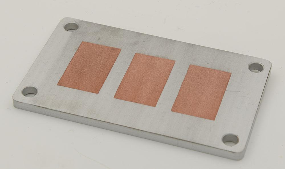 铝制可焊IGBT散热板